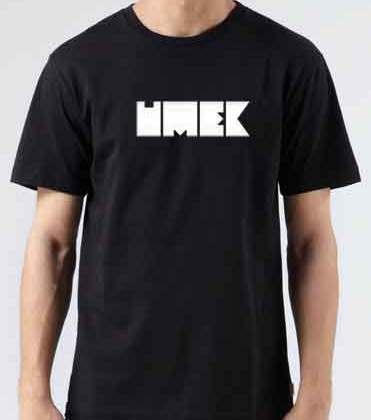 Umek Logo T-Shirt Crew Neck Short Sleeve Men Women Tee DJ Merchandise Ardamus.com