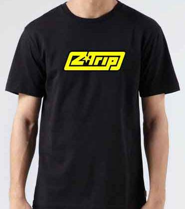 Z Trip Logo T-Shirt Crew Neck Short Sleeve Men Women Tee DJ Merchandise Ardamus.com