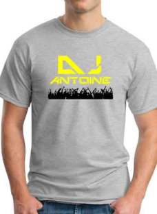 Antoine T-Shirt Crew Neck Short Sleeve Men Women Tee DJ Merchandise Ardamus.com