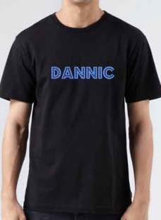 Dannic T-Shirt Crew Neck Short Sleeve Men Women Tee DJ Merchandise Ardamus.com