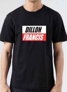 Dillon Francis T-Shirt Crew Neck Short Sleeve Men Women Tee DJ Merchandise Ardamus.com
