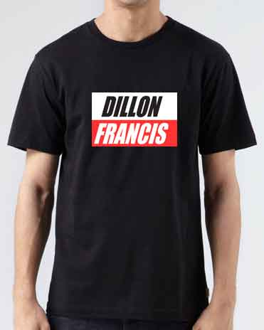 Dillon Francis T-Shirt Crew Neck Short Sleeve Men Women Tee DJ Merchandise Ardamus.com