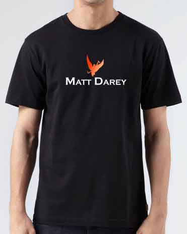 Matt Darey T-Shirt Crew Neck Short Sleeve Men Women Tee DJ Merchandise Ardamus.com