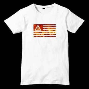 Flosstradamus Flag T-Shirt Men Women Tee by Ardamus.com Merchandise