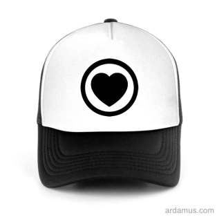 A State Of Trance Heart Trucker Hat Baseball Cap DJ by Ardamus.com Merchandise