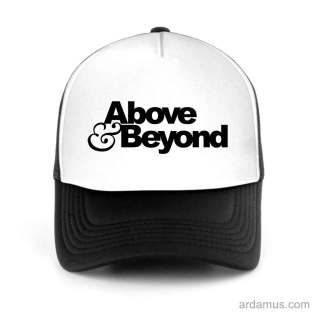 Above Beyond Trucker Hat Baseball Cap DJ by Ardamus.com Merchandise