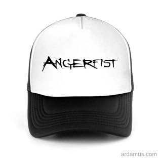 Angerfist Trucker Hat Baseball Cap DJ by Ardamus.com Merchandise