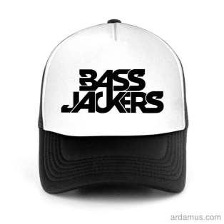 Bass Jackers Trucker Hat Baseball Cap DJ by Ardamus.com Merchandise