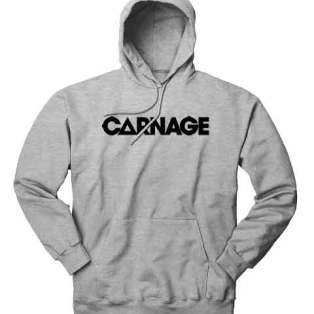 Carnage Hoodie Sweatshirt by Ardamus.com Merchandise