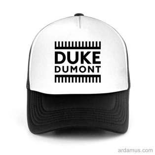 Duke Dumont Trucker Hat Baseball Cap DJ by Ardamus.com Merchandise