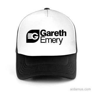 Gareth Emery Trucker Hat Baseball Cap DJ by Ardamus.com Merchandise