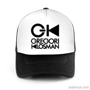 Gregori Klosman Trucker Hat Baseball Cap DJ by Ardamus.com Merchandise