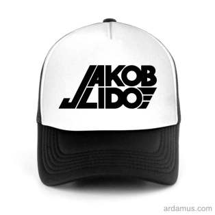 Jakob Lido Trucker Hat Baseball Cap DJ by Ardamus.com Merchandise