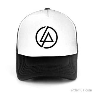 Linkin Park Logo Trucker Hat Baseball Cap DJ by Ardamus.com Merchandise