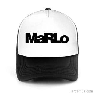 Marlo Trucker Hat Baseball Cap DJ by Ardamus.com Merchandise
