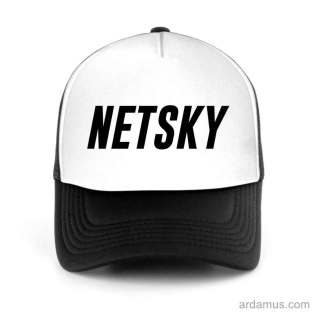 Netsky Trucker Hat Baseball Cap DJ by Ardamus.com Merchandise