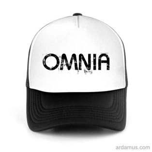 Omnia Trucker Hat Baseball Cap DJ by Ardamus.com Merchandise