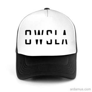 Owsla Trucker Hat Baseball Cap DJ by Ardamus.com Merchandise