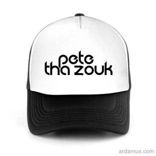 Pete Tha Zouk Trucker Hat Baseball Cap DJ by Ardamus.com Merchandise