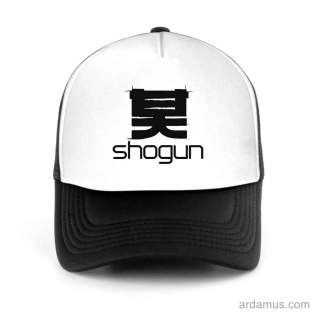 Shogun Trucker Hat Baseball Cap DJ by Ardamus.com Merchandise