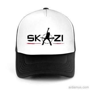 Skazi Trucker Hat Baseball Cap DJ by Ardamus.com Merchandise