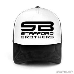 Stafford Brothers Trucker Hat Baseball Cap DJ by Ardamus.com Merchandise