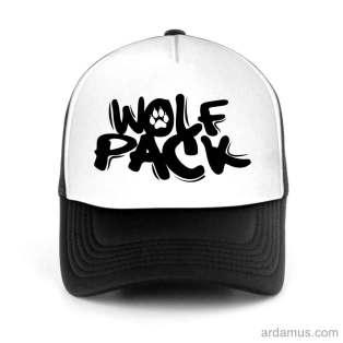 Wolfpack Trucker Hat Baseball Cap DJ by Ardamus.com Merchandise
