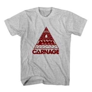 T-Shirt Carnage Logo Men Women Tee by Ardamus.com Merchandise