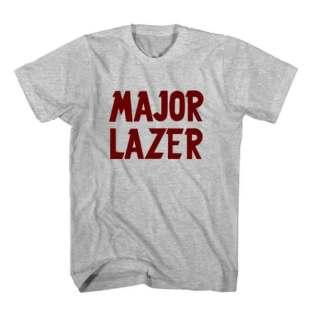 T-Shirt Major Lazer Men Women Tee by Ardamus.com Merchandise