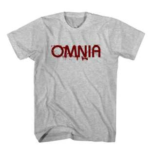 T-Shirt Omnia Men Women Tee by Ardamus.com Merchandise