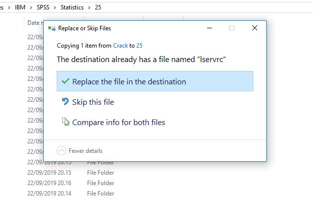 file Crack spss