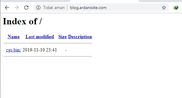 cek subdomain