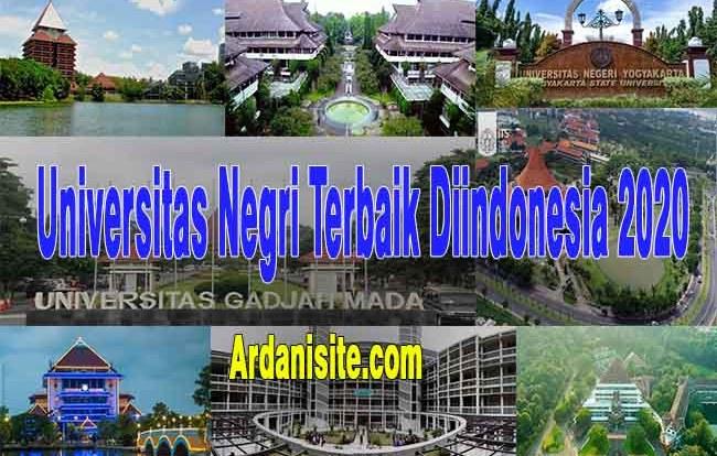 universitas negri terbaik diindonesia