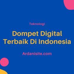 dompet digital terbaik indonesia