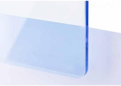Plexi Bleu ciel Transparent