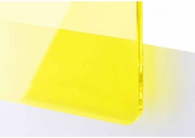 Plexi Jaune Transparent