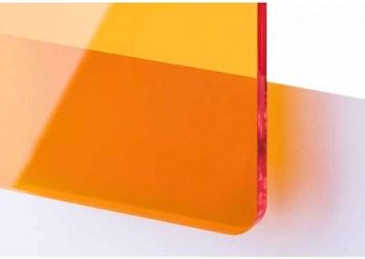 Plexi Orange Transparent