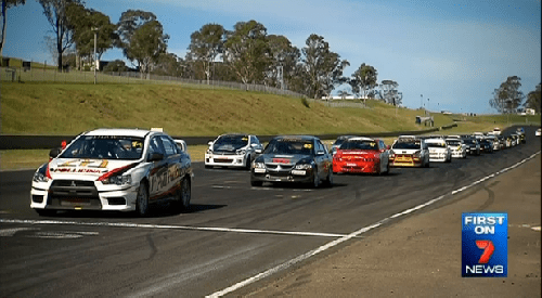 V8 Supercars return to Sydney Motorsport Park
