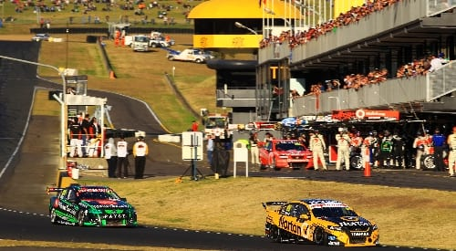 V8 Supercars to grid up twice at SMSP in 2014