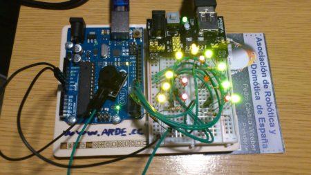 Arbol de LEDs y Melodia