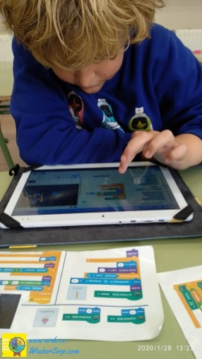 Programando Scratch3 Tablet