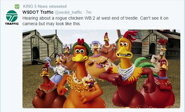 WSDOT Traffic Tweet