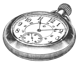 Eaton's Special Nickel-Cased Pocket Watch, 1917