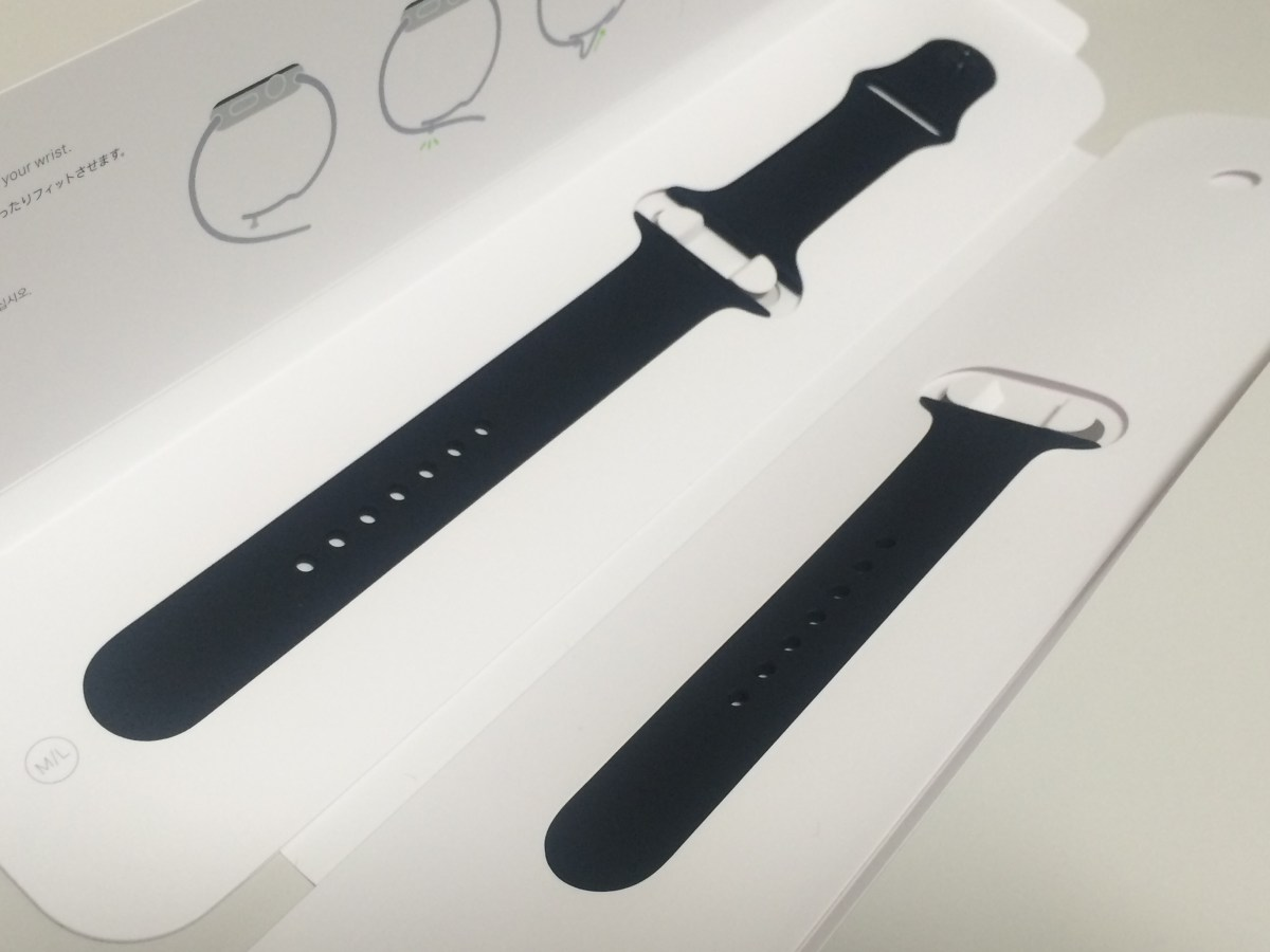 Apple Watch Sports Band を替えてみた