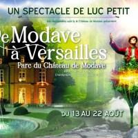"""Carte blanche à MURIELLE LECOCQ : """"De Modave a Versailles"""" (Luc Petit)"""
