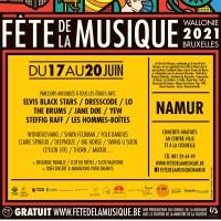 """""""Fête de la Musique"""", à Namur, ce week-end des 18 au 20 juin"""