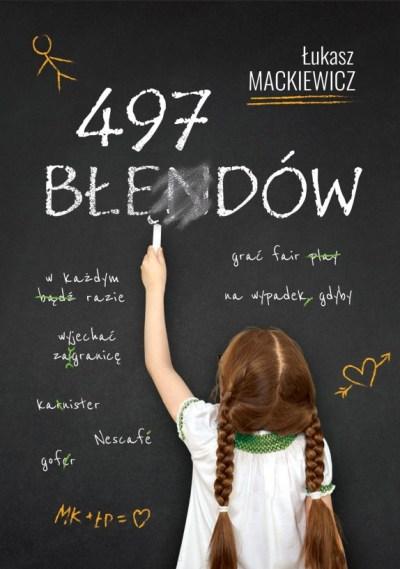 Jak stworzyć okładkę książki 497 błędów