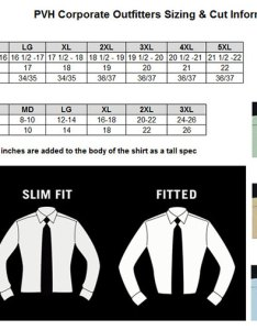 Size chart for items ar  men   ladies van heusen oxfords also ardent store rh ardentstore