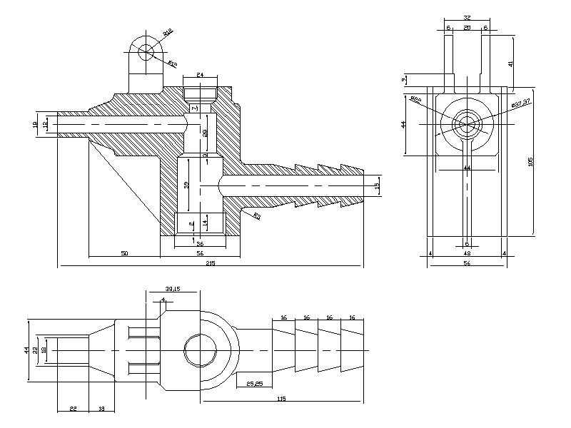 Mechanical CAD Drafting and CAD Conversion Services in India