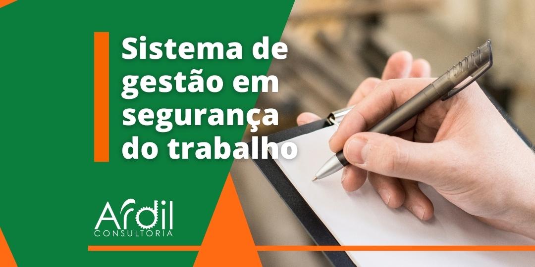 GESTÃO DE SEGURANÇA DO TRABALHO